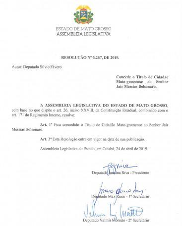 2º secretário da AL, Barranco se recusa a assinar homenagem para Jair Bolsonaro